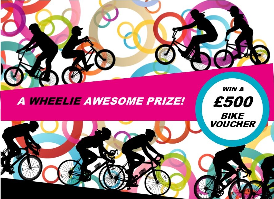 Win A £500 Bicycle Voucher With One Lottery
